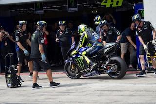 """MotoGP, Valentino Rossi: """"Sappiamo su cosa lavorare"""""""