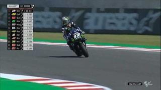 MotoGP, Vinales in pole a Misano. Rossi-Marquez, nuova incomprensione: il Dottore 7° in griglia