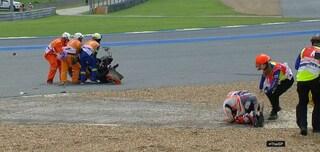 MotoGP, violenta caduta per Marquez nelle libere 1 di Buriram