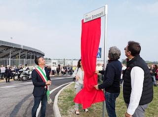 Via Marco Simoncelli, inaugurata a Misano la strada dedicata al Sic