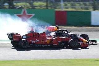 Leclerc penalizzato a Suzuka, il pilota Ferrari retrocesso in settima posizione