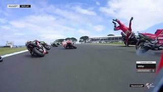 "MotoGP, Petrucci: ""Mi dispiace per Quartararo, Marquez mi ha mandato sullo sporco"""