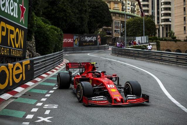 La Ferrari con lo sponsor Mission Winnow – Ferrari
