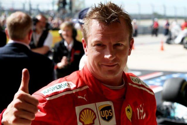 Kimi Raikkonen in Ferrari / Getty