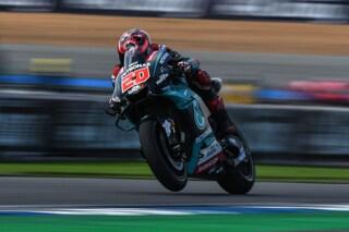 MotoGP, Quartararo si prende il venerdì giapponese, 5° Rossi
