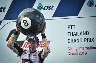 "MotoGP, Marquez: ""Vincere 15 Mondiali? Per ora mi godo l'ottavo"""