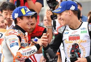 """MotoGP, Quartararo rookie dell'anno: """"Era il primo obiettivo"""""""