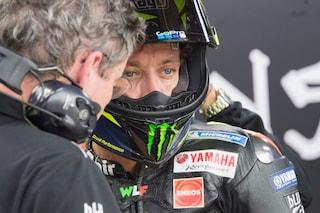 """MotoGP, Valentino Rossi ultimo delle Yamaha: """"È una bella sfida"""""""