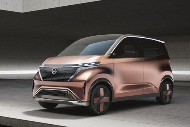 Il nuovo concept Nissan IMk