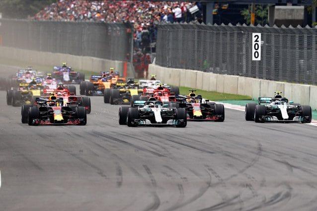 La partenza del GP del Messico – Getty images
