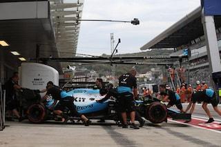 Williams sempre più giù, Kubica costretto al ritiro a Sochi per mancanza di ricambi
