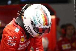Vettel a Suzuka in versione ninja, il tedesco della Ferrari correrà con un casco speciale