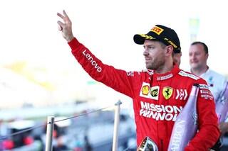 """Vettel: """"In partenza ho sbagliato, ma il 2° posto era il massimo che potevamo ottenere"""""""