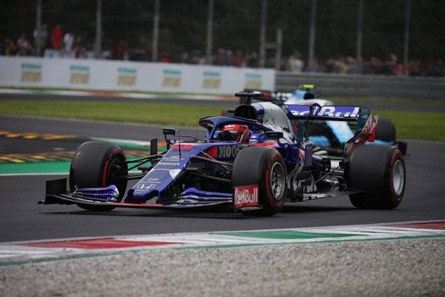 La Toro Rosso a Monza – LaPresse