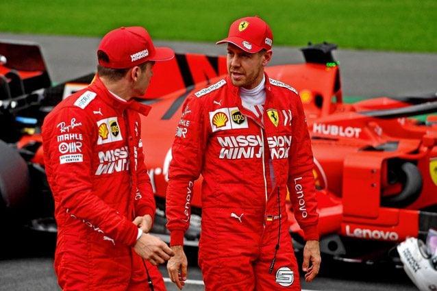 Sebastian Vettel e Charles Leclerc – Ferrari