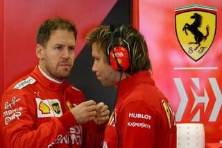"""Vettel vola basso: """"Oggi ho fatto il mio"""". Leclerc cauto: """"Dobbiamo ancora lavorare"""""""