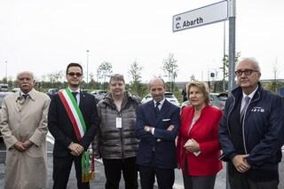 Via Carlo Abarth, a Torino una strada intitolata al fondatore della casa dello Scorpione