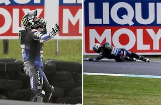 """MotoGP Australia, Vinales: """"Questa volta è finita male"""""""