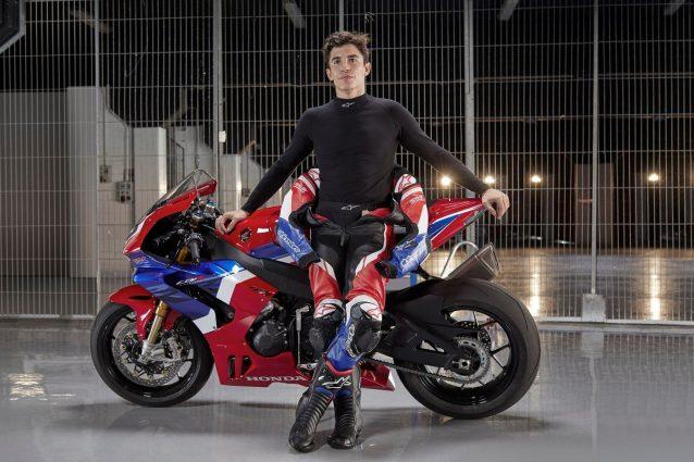Marc Marquez e la nuova CBR1000RR–R Fireblade SP / Honda