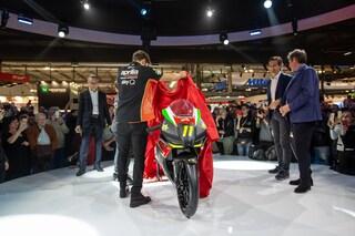 Moto, in pista a 11 anni con il Tricolore Aprilia Sport Production