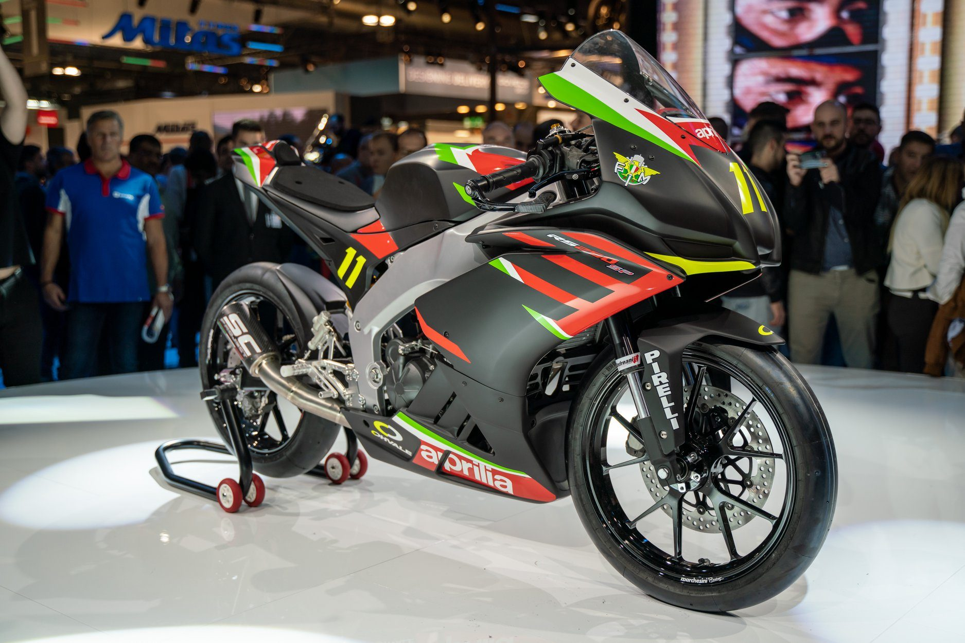 L'Aprilia RS 250 SP del nuovo campionato Sport Production 2020 / Aprilia
