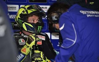 """Valentino Rossi: """"Stagione non facile ma a Valencia voglio il podio"""""""