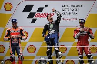 """MotoGP Sepang, Vinales: """"Vittoria incredibile, la dedico a Munandar"""""""