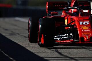 F1, Charles Leclerc penalizzato in griglia di partenza: nuovo motore in Brasile per la Ferrari