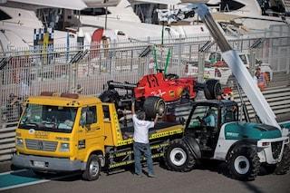 F1, per Vettel e Leclerc incidente fotocopia ad Abu Dhabi