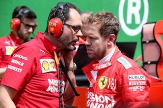 """F1, la Ferrari rassicura: """"Tutto risolto tra Vettel e Leclerc"""""""