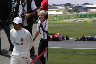 Gran Premio del Brasile, Hamilton penalizzato per il contatto con Albon: perde il podio