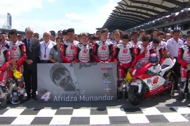 Minuto di silenzio per Afridza Munandar / MotoGP.com