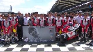 La MotoGP ricorda Munandar, minuto di silenzio per il pilota morto a Sepang