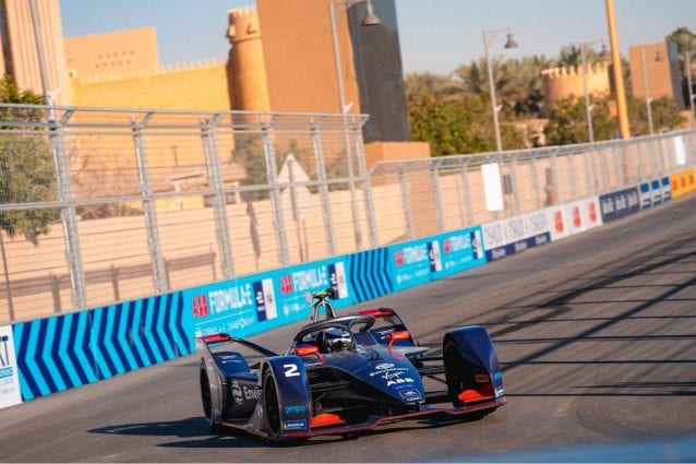 Il pilota della Virgin Racing Sam Bird / Envision Virgin Racing Formula E