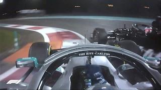 F1 Abu Dhabi, incidente e miglior tempo per Bottas. Inseguono le Ferrari di Leclerc e Vettel