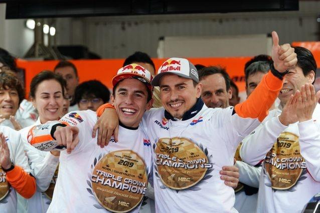 Marc Marquez e Jorge Lorenzo / Honda Repsol