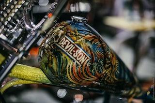 Roma, Eternal City Motorcycle Custom Show: la passione per la moto diventa opera d'arte