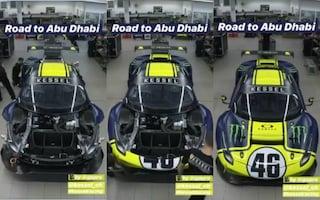 Valentino Rossi, ecco la Ferrari della 12 Ore di Abu Dhabi
