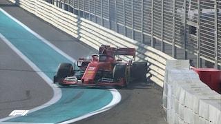 F1, Vettel sbatte nel finale. A Bottas le prime libere di Abu Dhabi