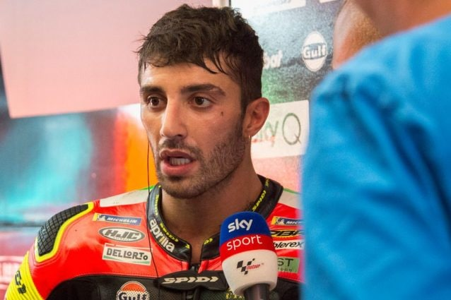 Andrea Iannone, 30 anni. Corre in MotoGP dal 2013 / Getty