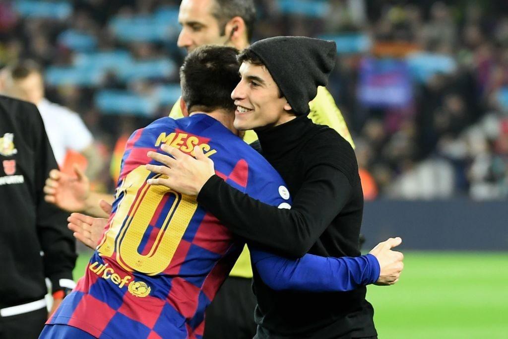 L'abbraccio tra Lionel Messi e Marc Marquez / Getty Images