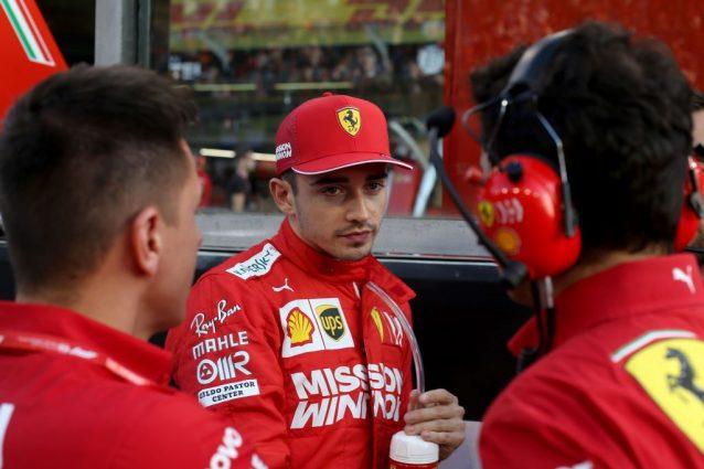 Charles Leclerc, 22 anni, prima della partenza del GP di Abu Dhabi / Getty