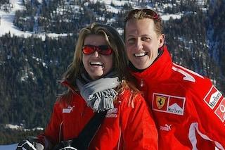 """Corinna, moglie di Schumacher, sulle condizioni di Michael: """"Le grandi cose a piccoli passi"""""""