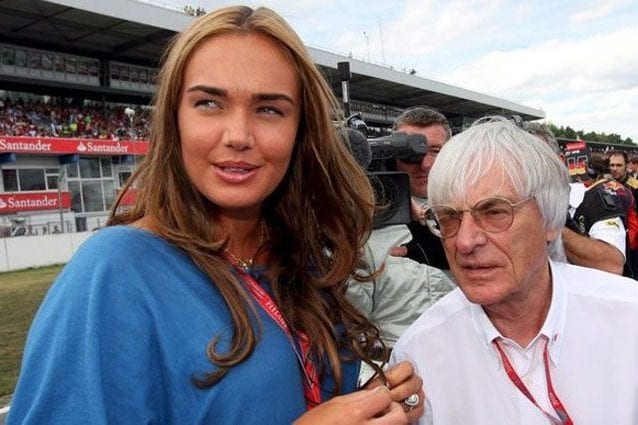 Tamara Ecclestone insieme al padre Bernie