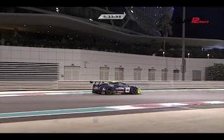Valentino Rossi, problema in gara-2 alla 12 Ore di Abu Dhabi