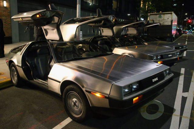 DeLorean DMC–12s / Getty