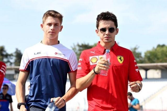 Arthur Leclerc, 19 anni, insieme al fratello Charles, 22 anni / Getty