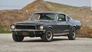Auto, asta record per la Ford Mustang di Steve McQueen nel film Bullitt
