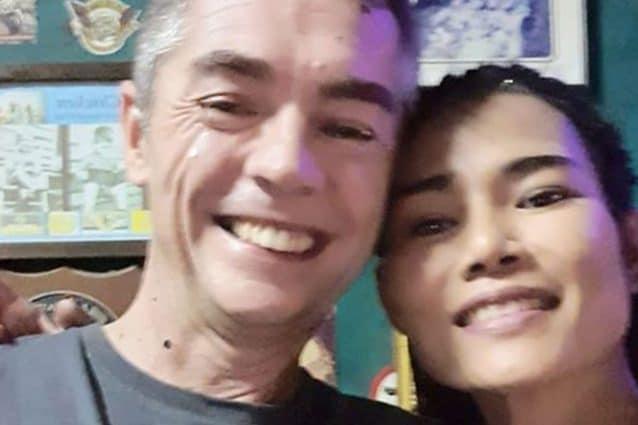 Gary McLaren insieme alla fidanzata Jasmine / Facebook