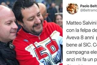 Marco Simoncelli, il gesto di Matteo Salvini irrita l'ex inviato MotoGP